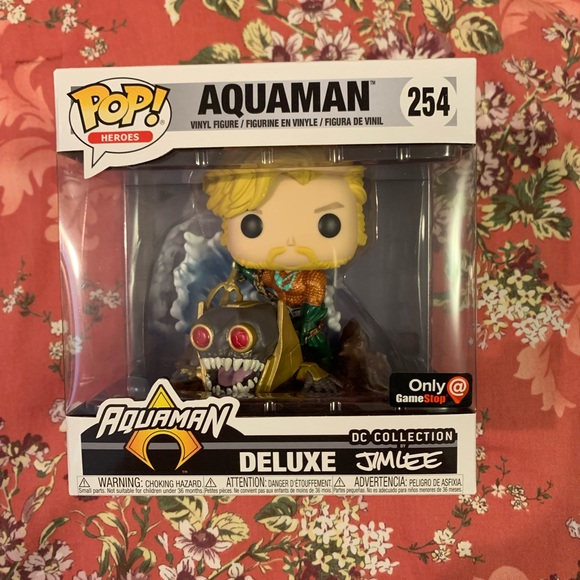 Funko Other - Aquaman-Funko Pop! GameStop Excl. #254